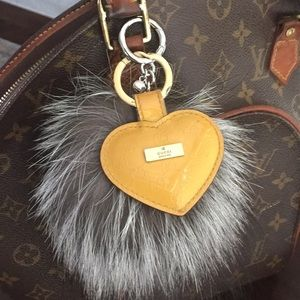 Authentic Gucci key ring.